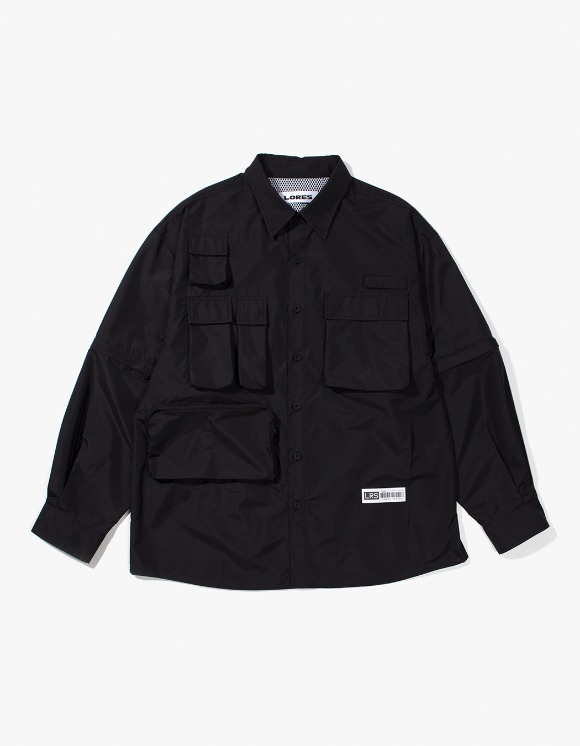 Lores Utility Shirts - Black | HEIGHTS. | International Store