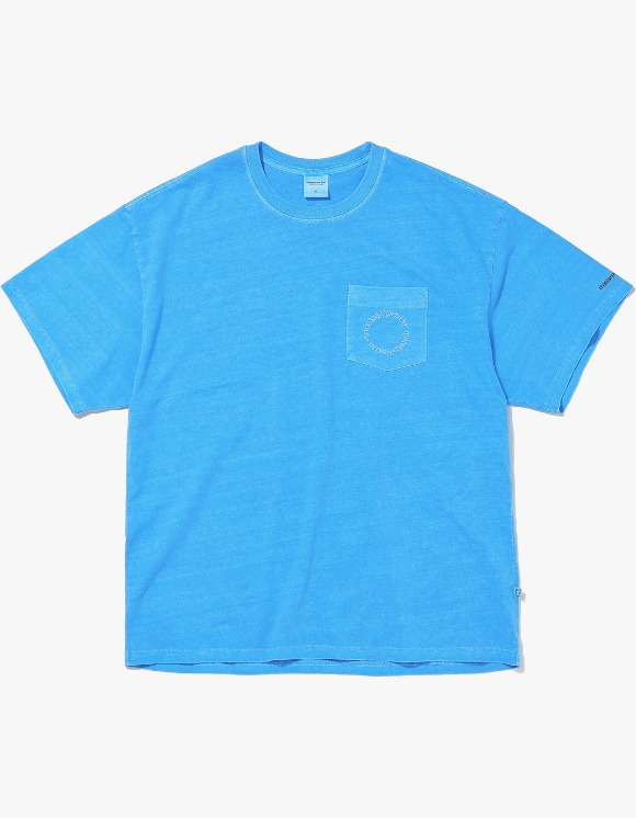 thisisneverthat C-UNION Pocket Tee - Blue | HEIGHTS. | International Store