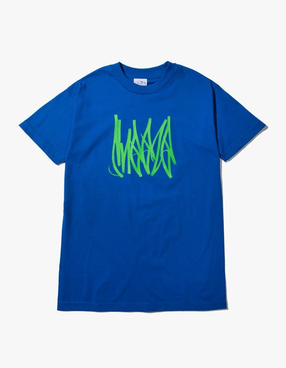 SNEEZE Magazine Sneeze Tag Tee - Royal Blue | HEIGHTS. | International Store