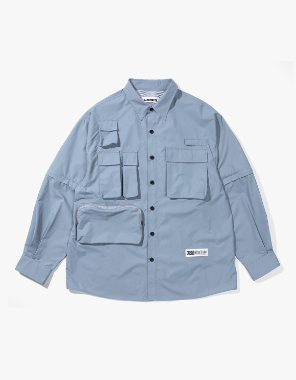 Lores Utility Shirts - Sky Blue | HEIGHTS. | International Store