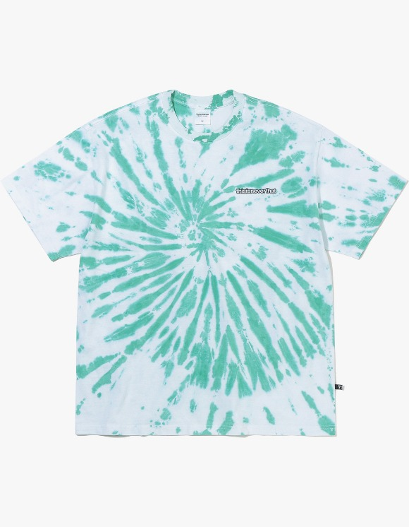 thisisneverthat Tie dye Tee - Green | HEIGHTS. | International Store