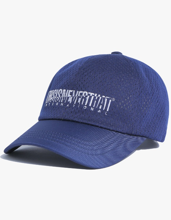 thisisneverthat Athletics Mesh Cap - Navy | HEIGHTS. | International Store