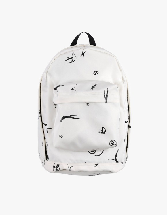 Richardson Erika Glyph Backpack - White | HEIGHTS. | International Store