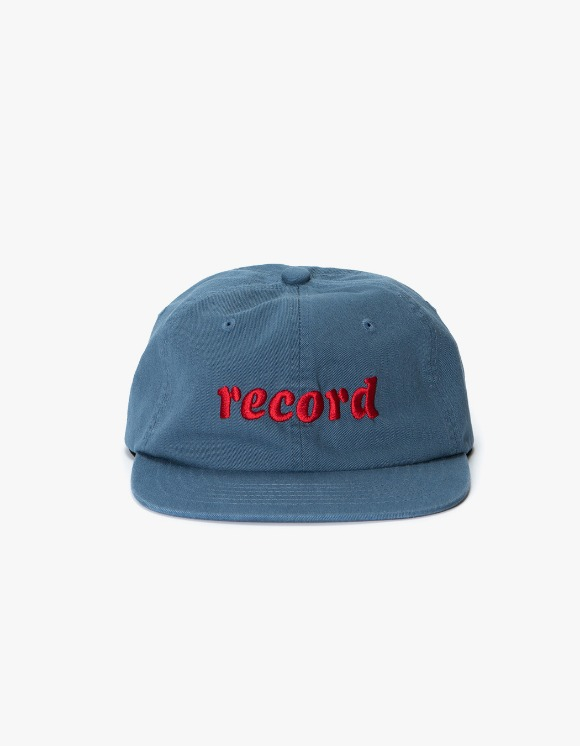 sounds good! Record 6panel Cap - Blue | HEIGHTS. | International Store