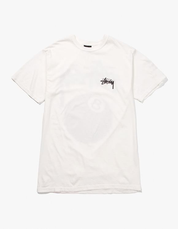 Stussy 8 Ball Pig.Dyed Tee - Natural | HEIGHTS. | International Store