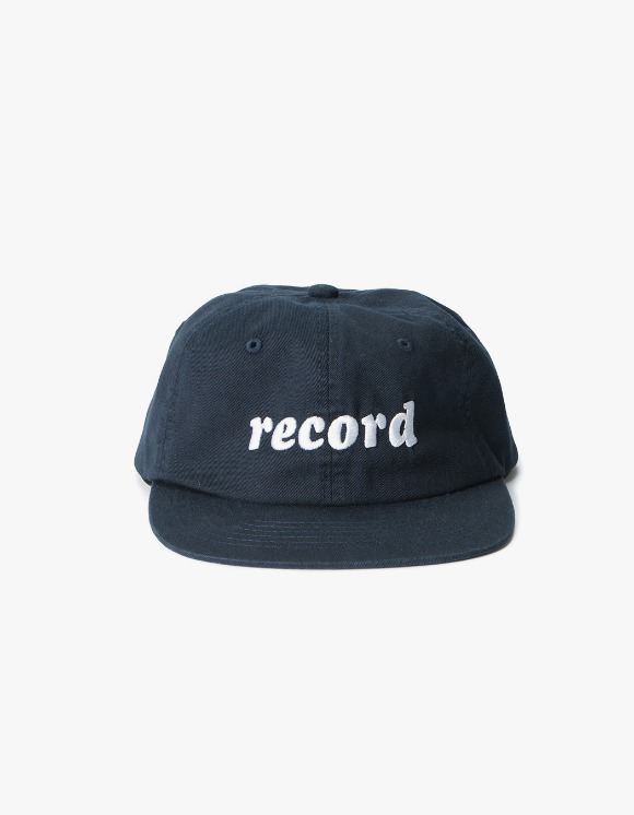 sounds good! Record 6panel Cap - Navy | HEIGHTS. | International Store