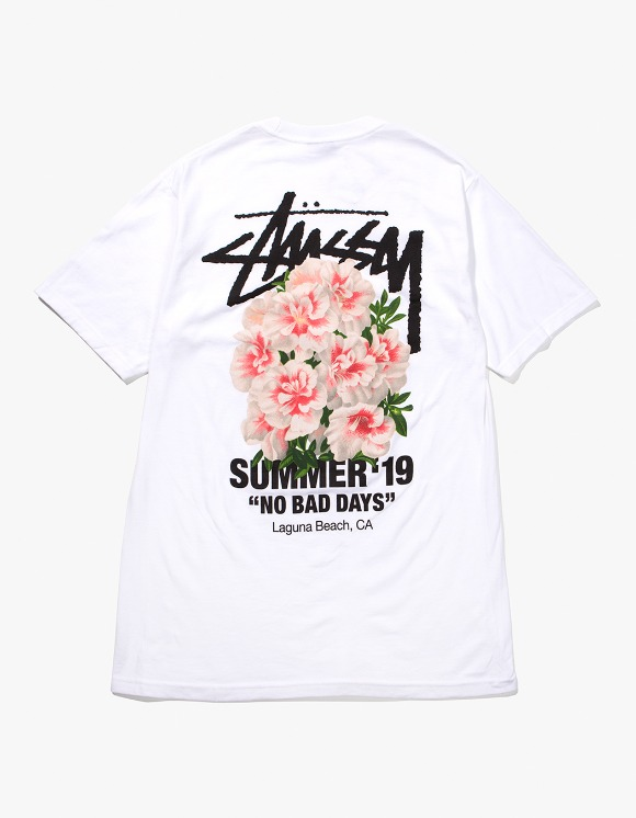 Stussy Carnation Tee - White | HEIGHTS. | International Store