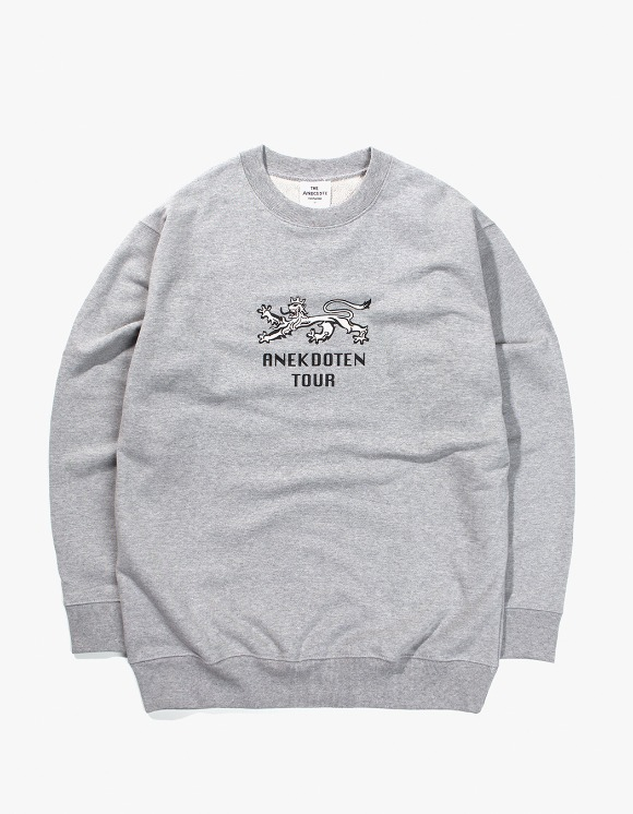 Beasts And Natives Alike ANEKDOTEN Crewneck - Grey | HEIGHTS. | International Store