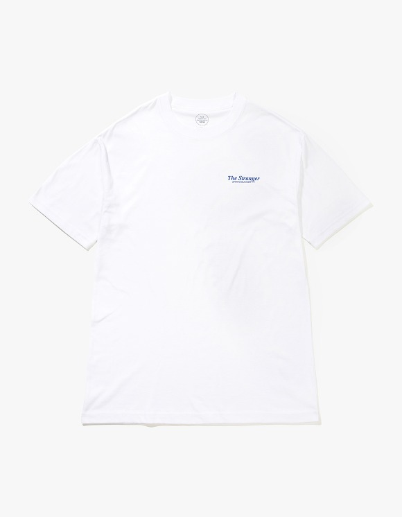 Beasts And Natives Alike The Stranger T-shirts - White/Blue | HEIGHTS. | International Store