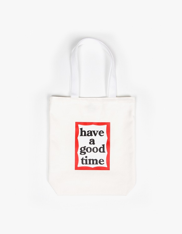 have a good time Frame Tote Bag - White | HEIGHTS. | International Store