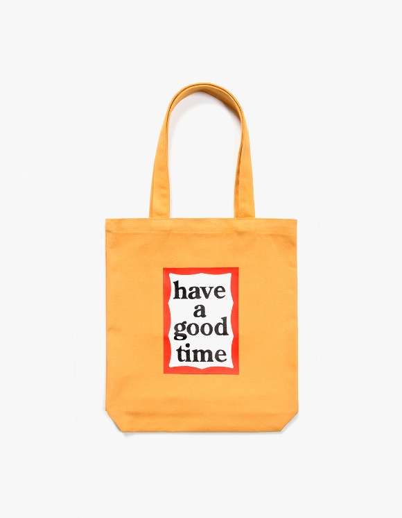 have a good time Frame Tote Bag - Cheddar Cheese | HEIGHTS. | International Store