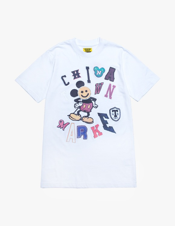 Chinatown Market Patchwork T-shirts - White | HEIGHTS. | International Store