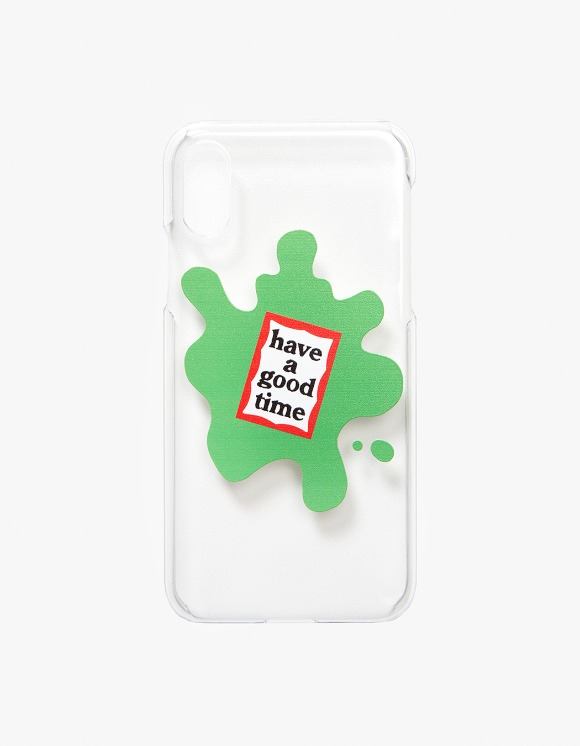 have a good time Amoeba iPhone Case X/XS - Clear | HEIGHTS. | International Store