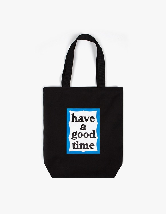 have a good time Blue Frame Tote Bag - Black | HEIGHTS. | International Store