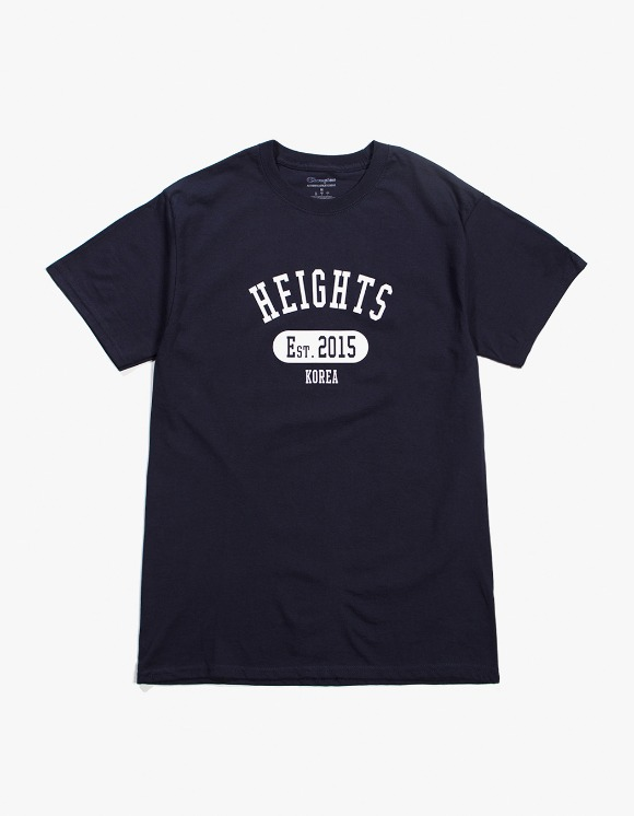 Balansa Heights. Since T-Shirt - Navy | HEIGHTS. | International Store