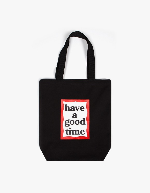 have a good time Frame Tote Bag - Black | HEIGHTS. | International Store