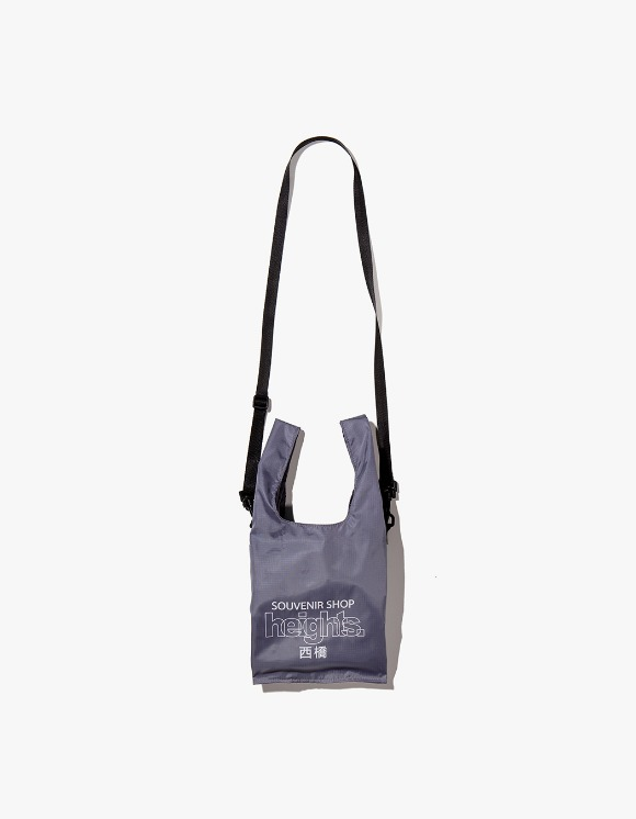 HEIGHTS. Heights. Logo Shoulder Bag - Charcoal | HEIGHTS. | International Store