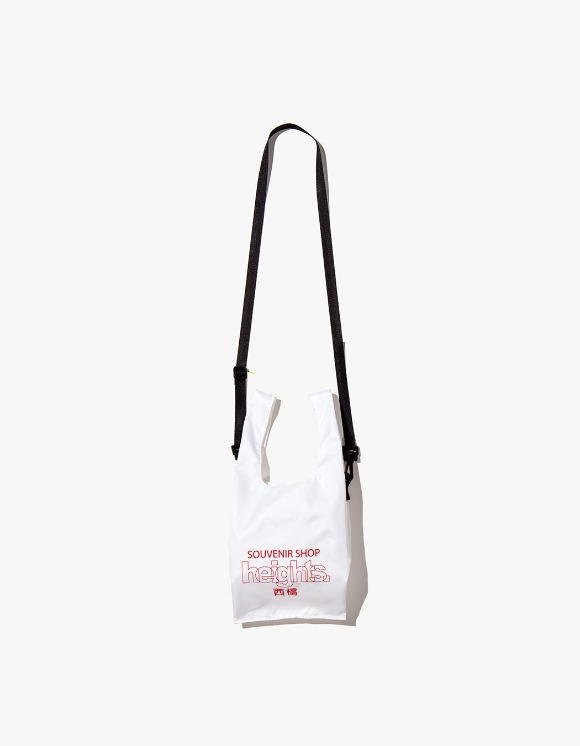 HEIGHTS. Heights. Logo Shoulder Bag - White | HEIGHTS. | International Store