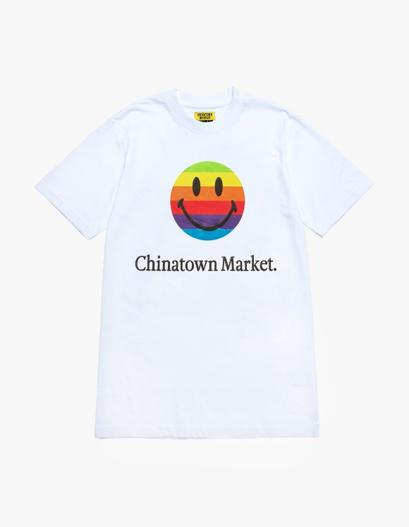 Chinatown Market Smiley Apple T-shirts - White | HEIGHTS. | International Store