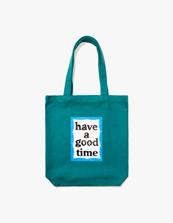 have a good time Blue Frame Tote Bag - Green | HEIGHTS. | International Store