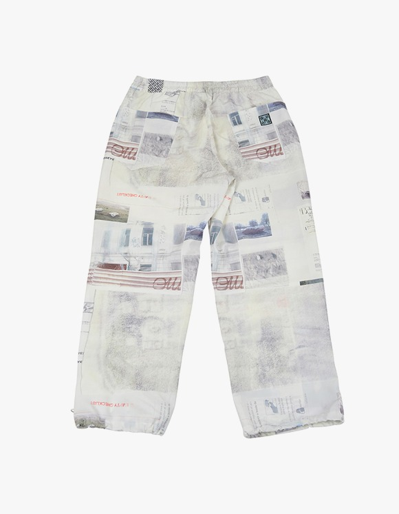 yeseyesee Checklist Track Pants - Ivory | HEIGHTS. | International Store