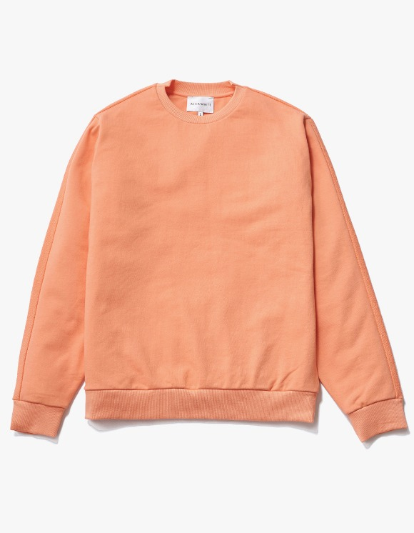 AECA WHITE Blake Patch Sweat - Peach Pink | HEIGHTS. | International Store