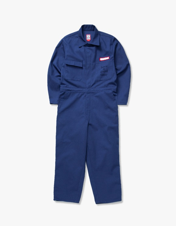 have a good time Logo Coveralls - Navy | HEIGHTS. | International Store