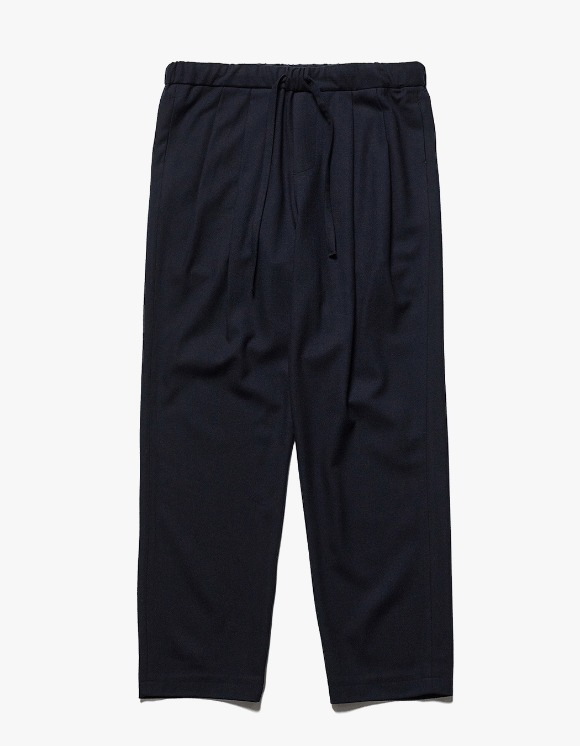 AECA WHITE Suite Wide Wool Pants - Deep Navy | HEIGHTS. | International Store