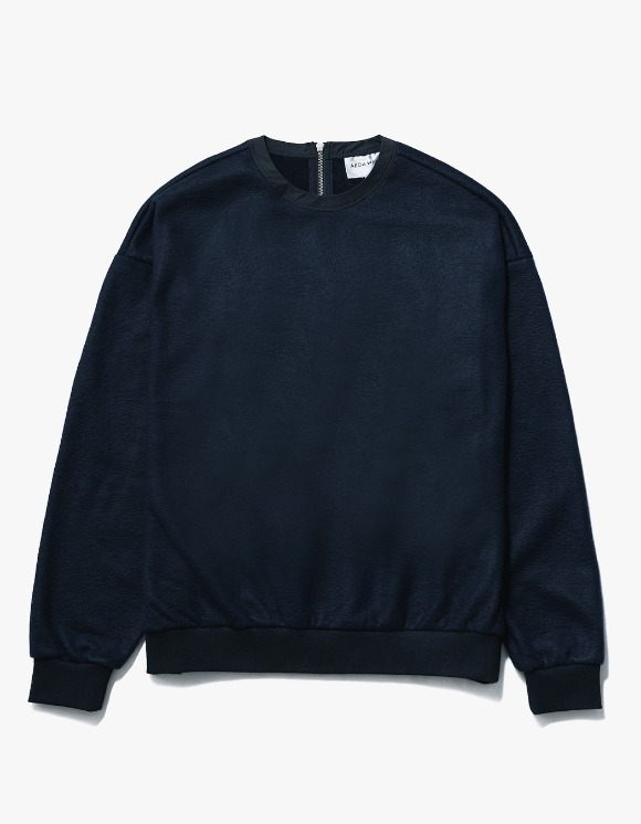 AECA WHITE Nord Oversize Sweat - Deep Navy | HEIGHTS. | International Store