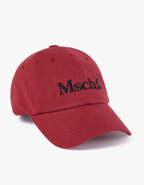 MISCHIEF Culture Ball Cap - Faded Red | HEIGHTS. | International Store