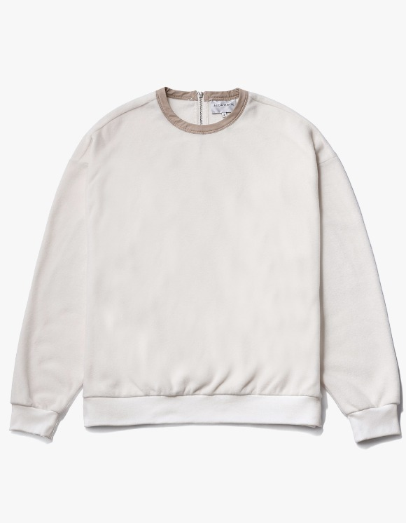 AECA WHITE Nord Oversize Sweat - Ivory | HEIGHTS. | International Store