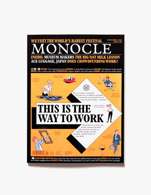 Monocle Monocle Magazine - Issue 126 | HEIGHTS. | International Store