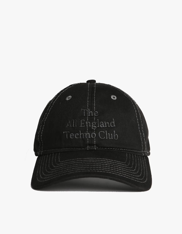 IDEA All England Techno Club Cap - Double Dyed Black | HEIGHTS. | International Store