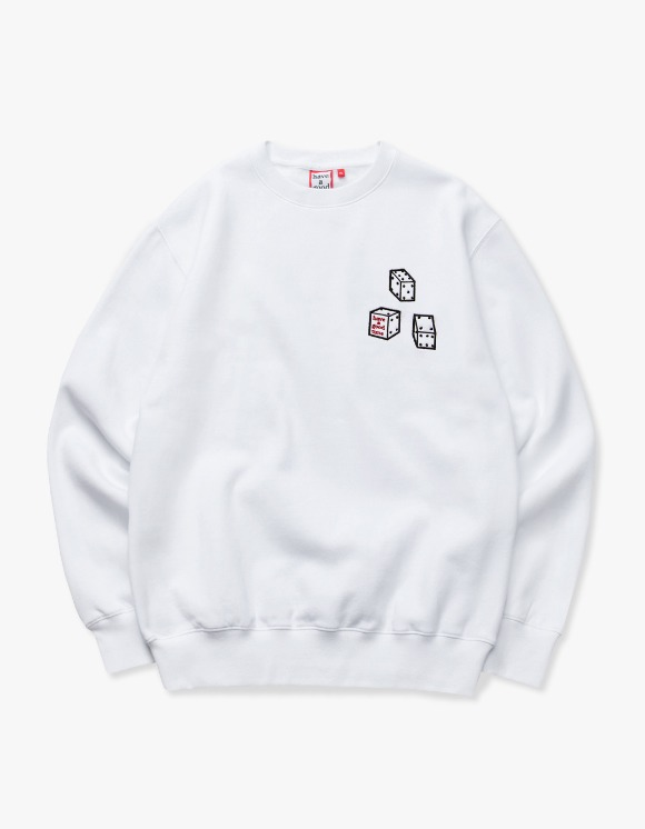 have a good time Dice Crewneck - White | HEIGHTS. | International Store
