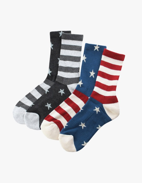 Champion 2P Set Full Length Socks - Color | HEIGHTS. | International Store