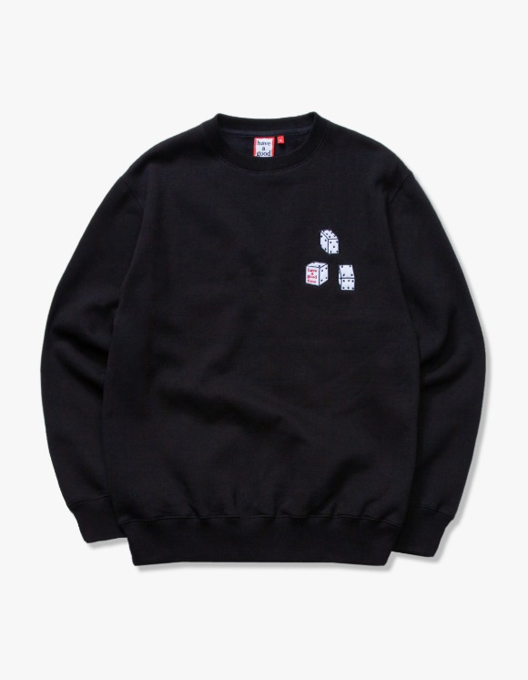 have a good time Dice Crewneck - Black | HEIGHTS. | International Store