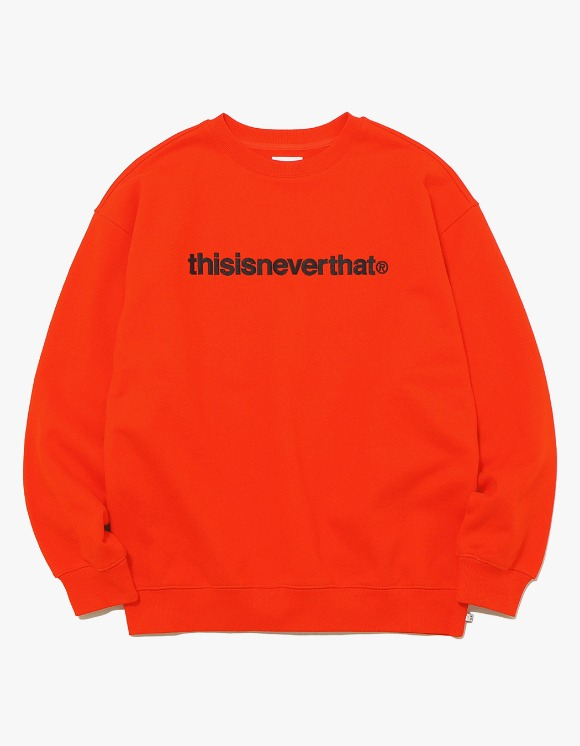 thisisneverthat T-Logo Crewneck - Orange | HEIGHTS. | International Store