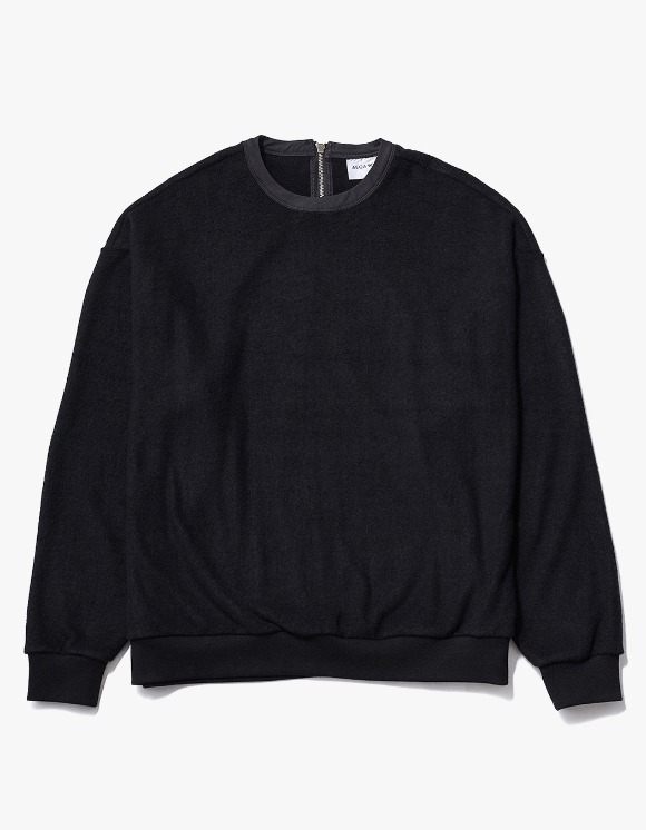 AECA WHITE Nord Oversize Sweat - Black | HEIGHTS. | International Store