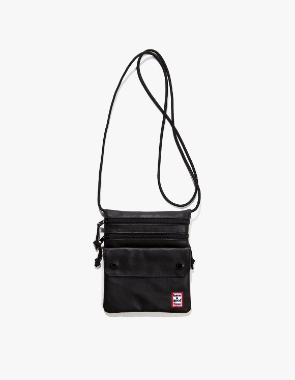 have a good time Frame Faux Leather Shoulder Bag - Black | HEIGHTS. | International Store