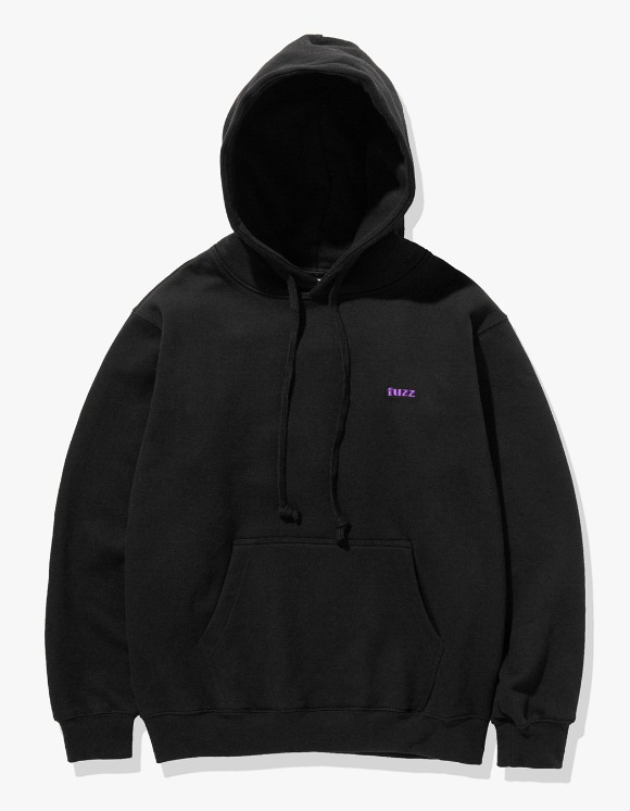 Fuzz FUZZ BASIC LOGO HOODIE black | HEIGHTS. | International Store