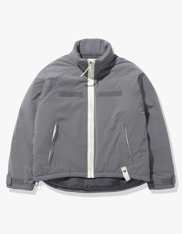 Fuzz FUZZ LEVEL7 SHORT PARKA gray | HEIGHTS. | International Store