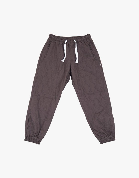 yeseyesee Quilted Jogger Pants  - Charcoal | HEIGHTS. | International Store