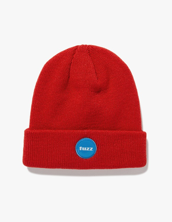 Fuzz FUZZ EPOXY LABEL BEANIE red | HEIGHTS. | International Store