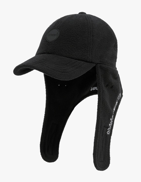 thisisneverthat Fleece Earflap Cap - Black | HEIGHTS. | International Store