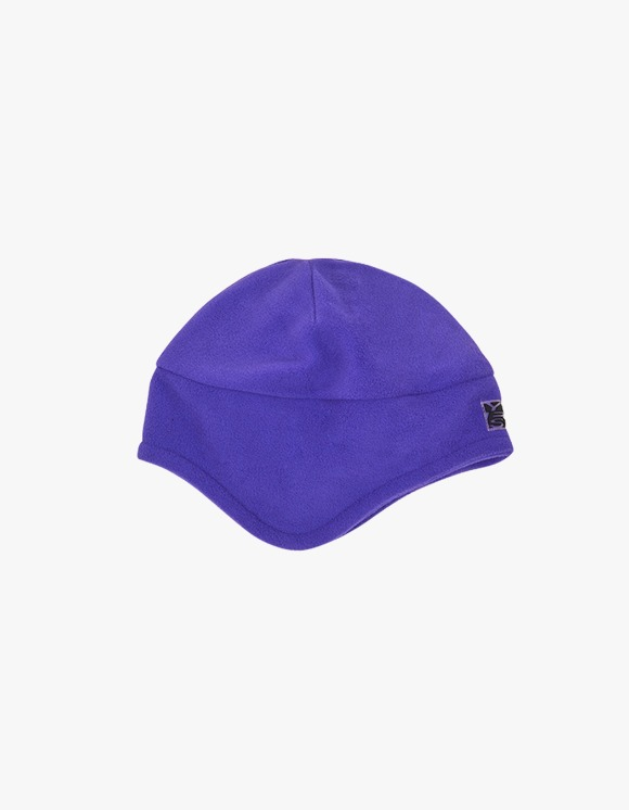 yeseyesee Y.E.S Fleece Earflap Beanie - Purple | HEIGHTS. | International Store
