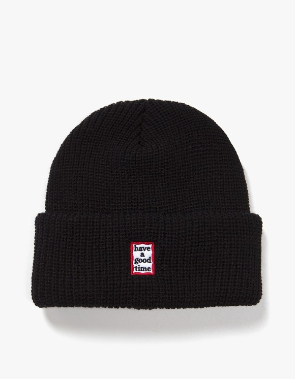have a good time Mini Mini Frame Beanie - Black | HEIGHTS. | International Store