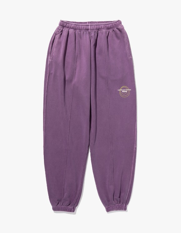 LMC LMC x FUZZ CIRCLE SWEAT PANTS Purple | HEIGHTS. | International Store