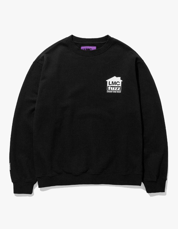 LMC LMC x FUZZ HOUSE SWEATSHIRT black | HEIGHTS. | International Store