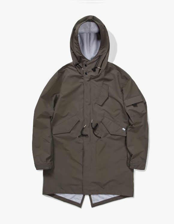 IZOLA NYC 3 Layer Mods Coat - Olive | HEIGHTS. | International Store