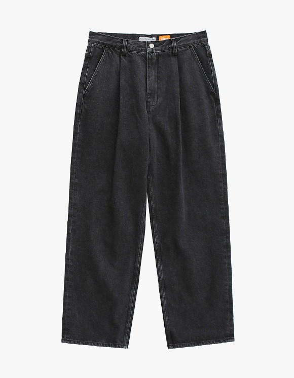 AYC 1 Tuck Wide Jeans Used Black | HEIGHTS. | International Store